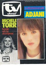 TV JOUR 10 (7/3/84) ISABELLE ADJANI MICHELE TORR