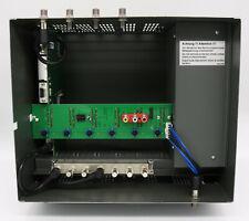 SYMARIX Kopfstation SRQ4 zur Umsetzung von 4 SAT-Transpondern auch HDTV in DVB-C