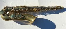 1938 King Zephyr Tenor Sax Vintage Original Lacquer One Owner