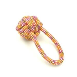 Dog Rope Chew Toys Kit Tough Strong Knot Ball Pet Puppy Cotton Teething 4302