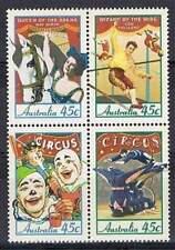 Australie 1997  circus   1626-29  postfris/mnh