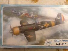 Azur Frrom1/32 scale IAR 81C Romanian fighter; OOP; FR8001; 2016; OOP;