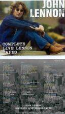 JOHN LENNON Complete Live Lennon Tapes 3 CD