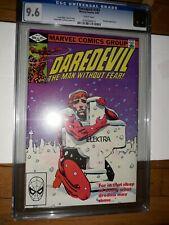 1982 DAREDEVIL #182 CGC 9.6 (NM+) W/P FRANK MILLER COVER MARVEL COMICS