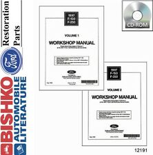1997 Ford F150-F250 (No Diesel) Truck Shop Service Repair Manual CD Engine OEM