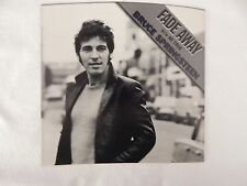 """BRUCE SPRINGSTEEN """"Fade Away"""" PICTURE SLEEVE! BRAND NEW!!"""