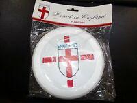 England Frisbee Freestyle Frisbee Throw Ring White Flying Disc Brand New