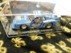 "RACER SIDEWAYS SW18 LANCIA BETA MONTECARLO ""FRUIT OF THE LOOM"" DRM 1/32 SLOT CAR"