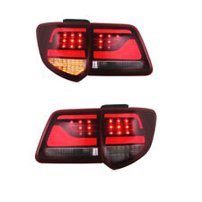 Red Clear Full LED Tail Lights For TOYOTA 2012-2015 Fortuner Rear Lamps L+R