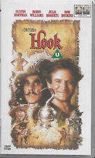 Hook VHS Tape Dustin Hoffman Robin Williams Julia Roberts Bob Hoskins