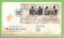 G.B. 2015 Battle of Waterloo M/S on Royal Mail First Day Cover, Tallents House
