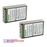 Kastar Replacement Battery Pack for Olympus BLS-5 & Olympus E-PL8 EPL8 Camera