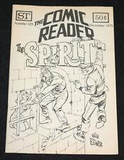1975 December The Comic Reader Fanzine #125 The Spirit Cover VF-