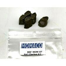 MOMACO MOM127 - SET DE 4 SACS DE CHARBON ET 1 INDIVIDUEL  1/43