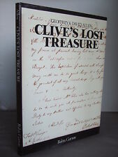 Clive's Lost Treasure by G & D Allen HB DJ 1978 Illustrated