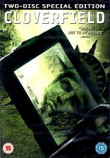 CLOVERFIELD - 2 DISC DVD - UNCUT - SPECIAL EDITION - MATT REEVES