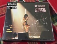 Giorgia Live MTv Unpluggeed Box CD + DVD Sony BMG 2005 Perfetto Come Da Foto