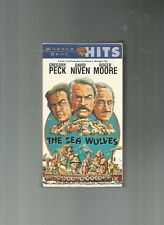 The Sea Wolves, Gregory Peck, David Niven, Roger Moore, VHS