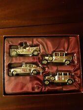 Lledo Queen Mother Rolls Royce set , Gold ton