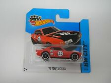 Hot Wheels HW City '70 Toyota Celica Short Card