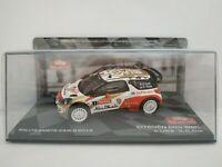 1/43 CITROEN DS3 WRC LOEB 2013 MONTECARLO RALLYE RALLY IXO CAR ESCALA DIECAST