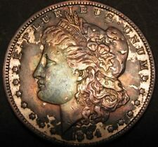 1884 MORGAN SILVER DOLLAR #15-124