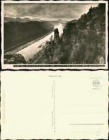 Ansichtskarte Schmilka Elbtal 1937 Walter Hahn:969