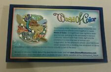 Disney world of color California adventure collectors pin RARE