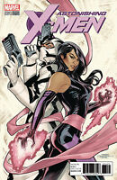 Astonishing X-Men 1 Marvel 2017 1:10 Terry Dodson Variant Psylocke Fantomex