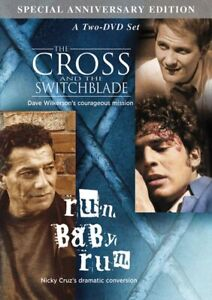 Cross & Switchblade / Run Baby Run [DVD] Nicky Cruz Christian outreach to gangs