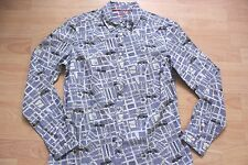 BODEN   London  street map classic shirt  size 10R  NEW  WA727