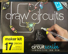 Circuit Scribe Maker STEM Kit Draw Your Own Circuits 17 Piece 11 Modules