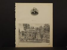 New York, Chautauqua County Engraving, 1881 Westfield N6#43
