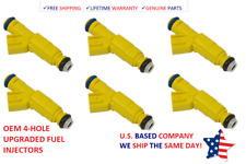 6 BOSCH FUEL INJECTORS 1998-2000 FORD RANGER & MAZDA B3000 3.0L V6 *OEM UPGRADED