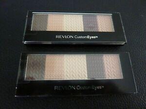 Revlon Custom Eyes Shadow & Liner - SWEET INNOCENCE #010 - TWO Brand New /Sealed