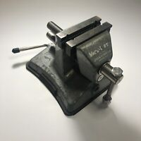 "Vacu-Vise by Lord & Hodge Inc. Gray Vacuum Base Bench Vise U.S.A. 2-1/2"" Jaw"