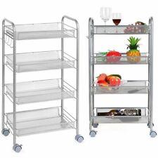 Küchenwagen Haushaltwagen Servierwagen Beistellwagen Rollwagen Metall mit Rollen