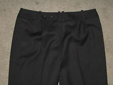 Ann Taylor Size 8 Petite Very Dark Brown Fully Lined Bootcut Womens Dress Pants