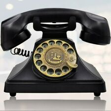 Vintage Retro old fashioned Rotaring Dial office For Telephone Decor Decoration