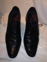 Base London Mens Leather Brogue Black Shoes Uk 44 Ref Fe01