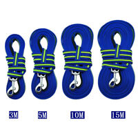 Nylon Dog Long Tracking Leash Recall Obedience Training Lead 10ft/16ft/33ft/50ft