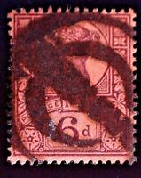 CatalinaStamps: Great Britain Stamp #119 Used, SCV=$12.50, #A-2