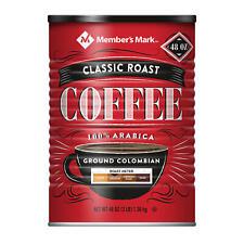 New listing Member's Mark Classic Roast Ground Coffee (48 oz.)