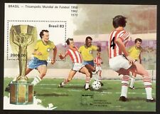 BRAZIL stamp 1983 Brasiliana 83 - Soccer - Scott#    RHM B-59
