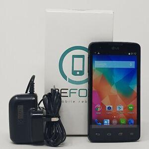 LG L60 (LG-X145) 4GB 3G - Dual Sim Android Cheap Mobile Phone - Black - Fast P&P
