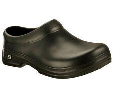 76778 Black Skechers Non Slip OSWALD-BALDER Men's Work Shoes BLACK BLK