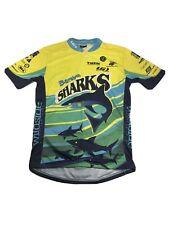 LOUIS GARNEAU Mens M Cycling Jersey Baraboo Sharks Logo