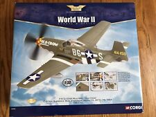 Corgi 1/32 Scale Diecast - AA34402 P-51 D-10 Mustang Old Crow 362nd FS 357th '44