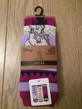 Disney Beauty and the Beast Ladies 3pairs Socks New with tag