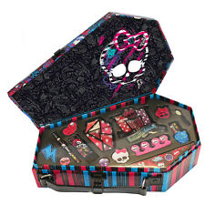 MONSTER HIGH KILLER STYLE BEAUTY MAKEUP KIDS COSMETIC CASE GIFT SET TOY